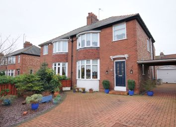 Thumbnail 4 bed semi-detached house for sale in Hadrian Avenue, Chester Le Street