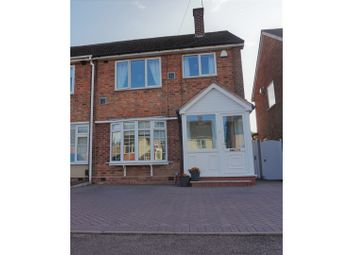 Thumbnail 3 bed semi-detached house for sale in Digby Drive, Birmingham