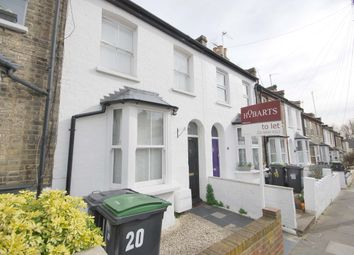Thumbnail 2 bedroom terraced house to rent in Warberry Road, Alexandra Park, London