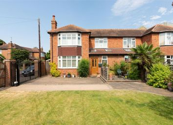 Thumbnail 3 bed semi-detached house for sale in Thames Street, Weybridge, Surrey
