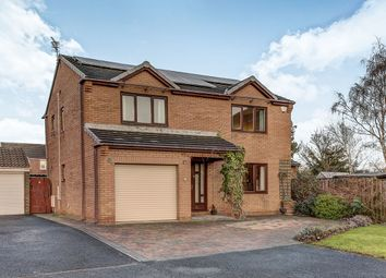 Thumbnail 4 bed detached house for sale in Kingfisher Close, Ashington