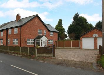 Thumbnail 4 bed semi-detached house for sale in Northwich Road, Lower Stretton, Warrington, Cheshire