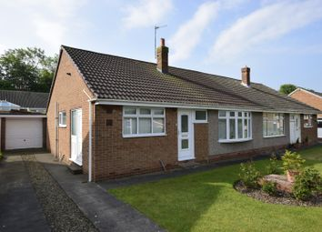 Thumbnail 3 bed semi-detached bungalow for sale in Longfield View, Middlesbrough