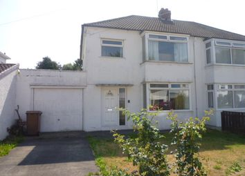 Thumbnail 3 bed semi-detached house for sale in Whitecroft Road, West Moor, Tyne & Wear