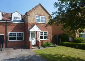 Thumbnail 3 bed semi-detached house to rent in Iddison Drive, Bedale