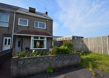 Thumbnail 4 bedroom end terrace house to rent in Baldwins Crescent, Crymlyn Burrows, Swansea