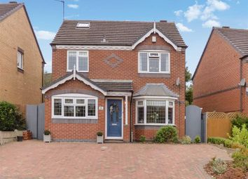 Thumbnail 4 bed detached house for sale in Deavall Way, Cannock, Staffordshire