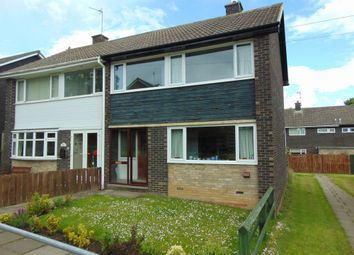 Thumbnail 3 bed semi-detached house for sale in Farnham Road, Newton Hall, Durham