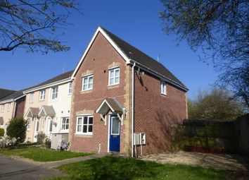 Thumbnail 3 bed end terrace house for sale in St Peters Avenue, Llanharan, Pontyclun