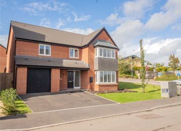 Thumbnail 4 bed detached house for sale in Heol Bennett, Old St. Mellons, Cardiff