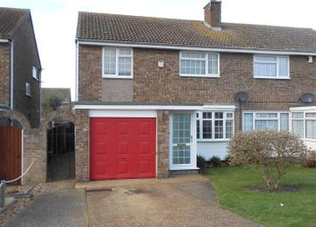 Thumbnail 3 bed semi-detached house to rent in St. Clair Close, Clacton-On-Sea