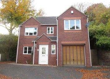 Thumbnail 4 bed detached house for sale in Clayton Road, Newcastle, Staffordshire