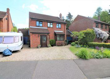 Thumbnail 4 bed detached house for sale in Belgrave Gardens, Dereham