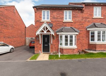 Thumbnail 3 bed semi-detached house for sale in Hermitage Close, Ashbourne