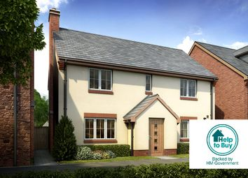 Thumbnail 4 bed detached house for sale in Woodbury Road, Clyst St George, Devon