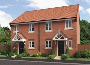 "Thumbnail 3 bed semi-detached house for sale in ""Beeley"" at Milldale Road, Farnsfield, Newark"