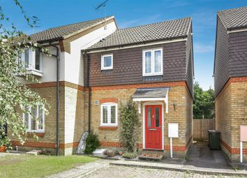 Thumbnail 2 bed end terrace house for sale in Fernihough Close, Weybridge