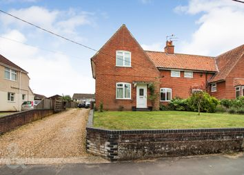 Thumbnail 3 bed semi-detached house for sale in Beccles Road, Bungay