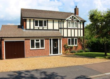 Thumbnail 4 bedroom detached house for sale in Edmonton Way, Oakham