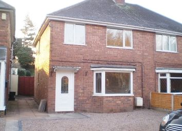 Thumbnail 3 bedroom semi-detached house to rent in Queslett Road, Great Barr, Birmingham