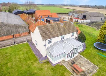 Thumbnail 4 bed farmhouse for sale in Carr Lane, Harby