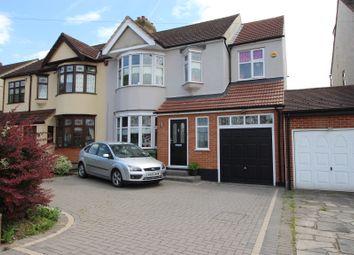 Thumbnail 4 bed semi-detached house for sale in Fairholme Avenue, Gidea Park, Romford