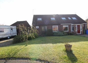 Thumbnail 2 bed semi-detached bungalow for sale in Woodkirk Close, Seghill, Cramlington