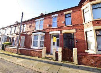 Thumbnail 4 bed terraced house for sale in Leasowe Avenue, Wallasey, Merseyside