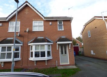 Thumbnail 3 bed semi-detached house to rent in Lamerton Close, Penketh, Warrington