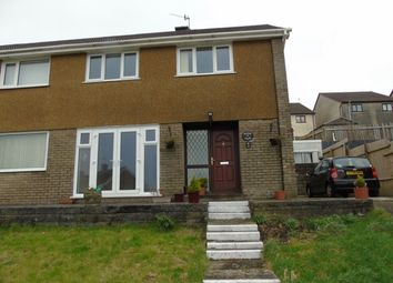 Thumbnail 3 bed semi-detached house to rent in Bryn Siriol, Llanelli