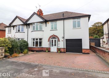 Thumbnail 4 bed semi-detached house for sale in West Furlong, Retford