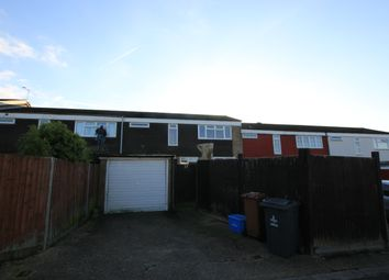 Thumbnail 3 bed terraced house to rent in Wisden Road, Stevenage, Hertfordshire