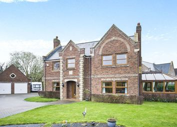 Thumbnail 5 bed detached house for sale in The Willows, Howden, Goole