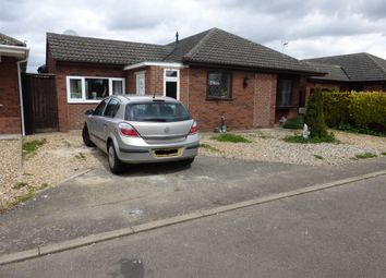 Thumbnail 3 bed detached bungalow for sale in Anglers Close, March