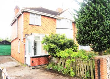 Thumbnail 3 bedroom semi-detached house for sale in Marina Drive, Derby