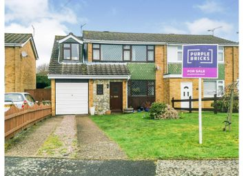 Thumbnail 4 bed semi-detached house for sale in Westbury Court, Southampton
