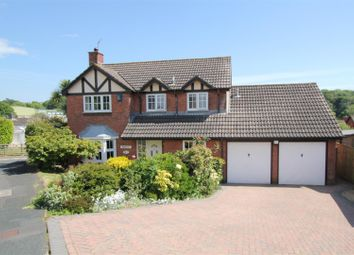 Thumbnail 4 bed detached house for sale in Philip Close, Plymstock, Plymouth