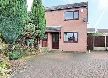 Thumbnail 2 bed semi-detached house for sale in Elvaston Road, North Wingfield, Chesterfield, Derbyshire