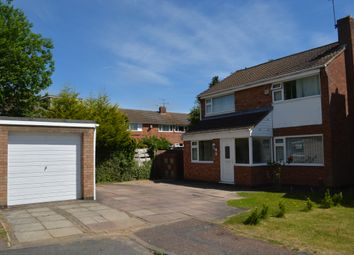 Thumbnail 4 bed detached house for sale in Sutton Close, Oadby, Leicester