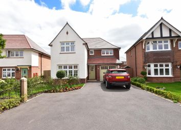 Thumbnail 4 bed detached house for sale in Commodore Close, Woodford, Stockport