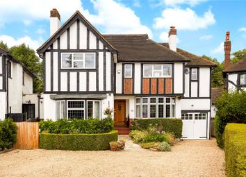 Thumbnail 4 bed detached house for sale in Woodcote Close, Epsom, Surrey