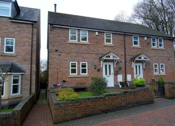 Thumbnail 3 bed semi-detached house for sale in Hollyhurst Court, Riddings, Alfreton