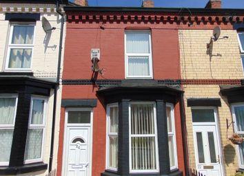 Thumbnail 2 bedroom terraced house to rent in Hinderton Road, Birkenhead, Wirral, Merseyside
