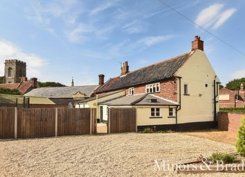 Thumbnail 4 bed link-detached house for sale in Back Street, Horsham St. Faith, Norwich
