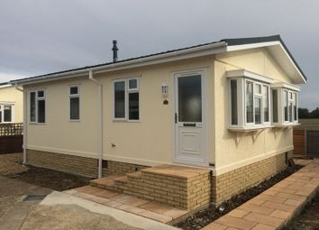 Thumbnail 2 bed mobile/park home for sale in Climping Park, Bognor Road, Climping, Littlehampton