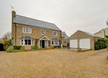 Thumbnail 5 bed detached house for sale in Downham Road, Outwell, Wisbech