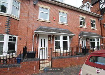 Thumbnail 3 bed end terrace house to rent in De Brompton Villas, Newcastle Under Lyme