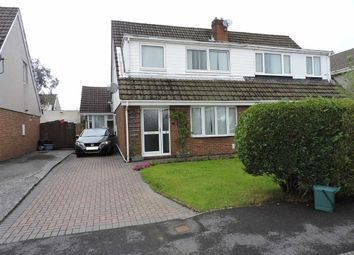Thumbnail 4 bed semi-detached house for sale in Teglan Park, Tycroes, Ammanford