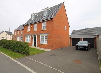 Thumbnail 5 bed detached house for sale in Brunswick Close, Great Sankey, Warrington