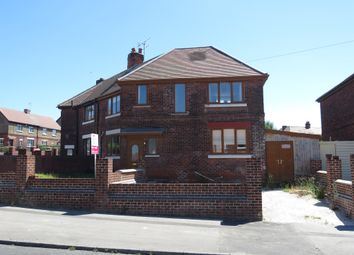 Thumbnail 3 bed semi-detached house for sale in Manton Crescent, Worksop